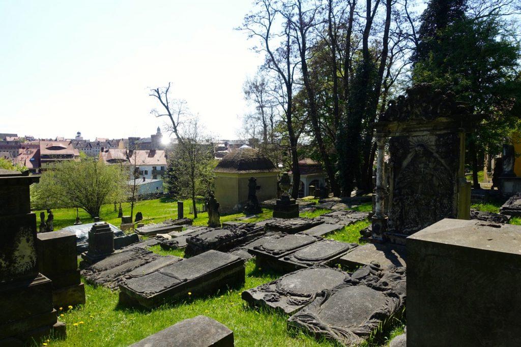 Unterwegs auf dem Nikolaifriedhof in Görlitz