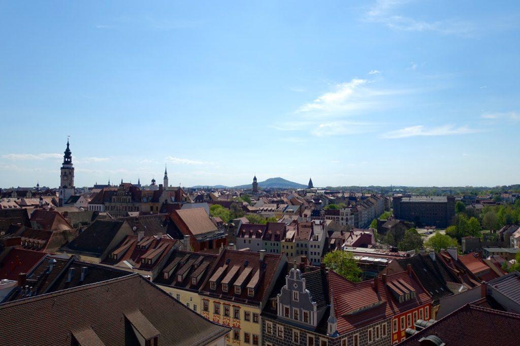 Görlitz #vonoben - vom Turm der Peter & Paul Kirche