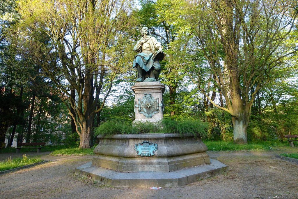Unterwegs im Stadtpark von Görlitz