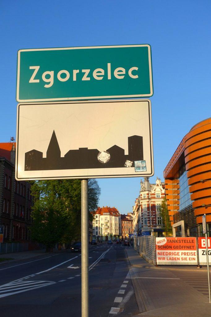 Über die Brücke gehts rüber nach Zgorzelec