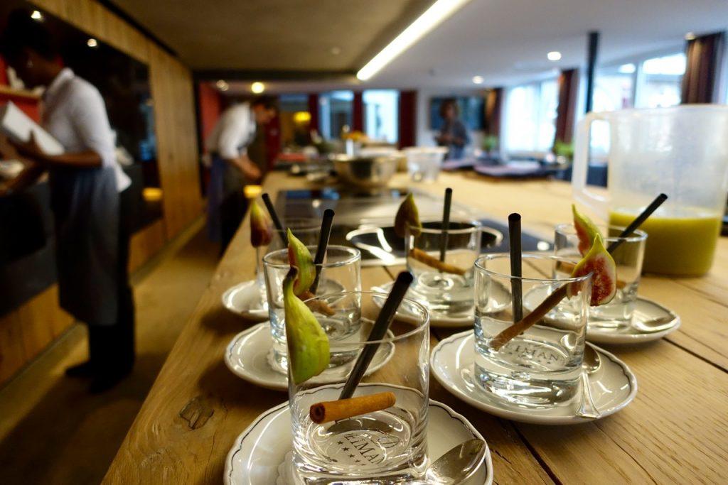 live cooking kochschule mit felix weber hotel deimann sauerland. Black Bedroom Furniture Sets. Home Design Ideas