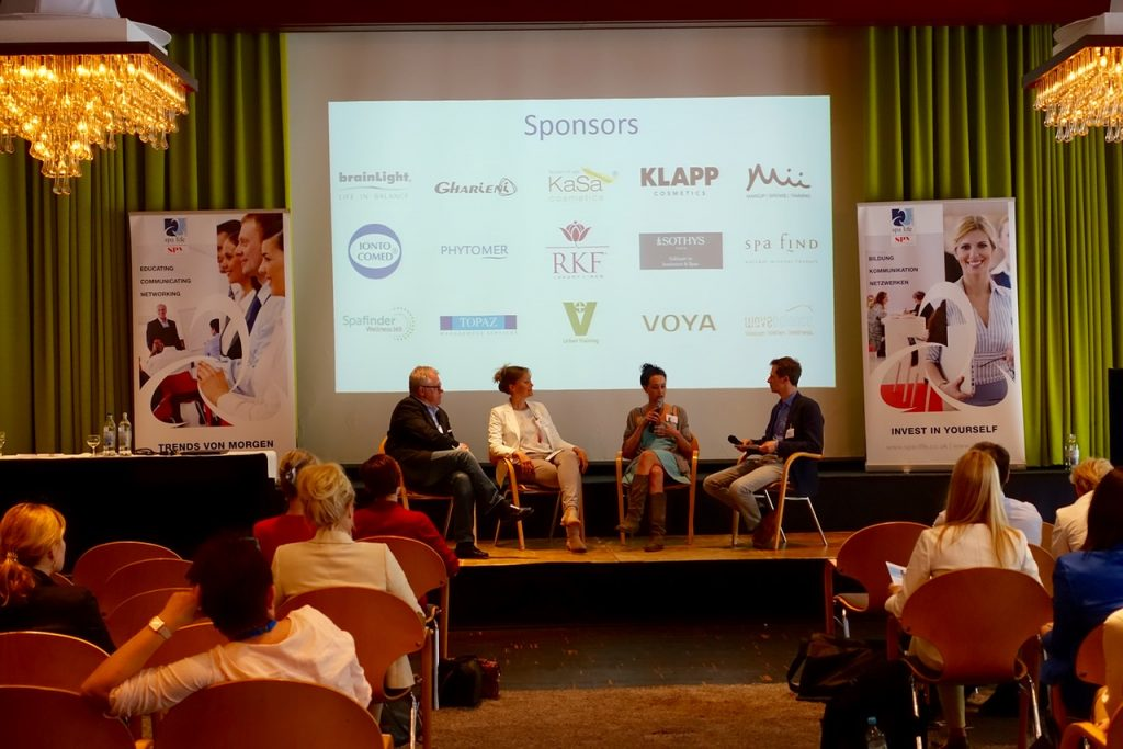 Podiumsdiskussion Digitale Medien in der Wellnessbranche