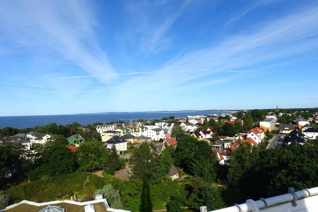 Auf dem Aussichtsturm an der Therme Ahlbeck - Strandpromenade Ahlbeck
