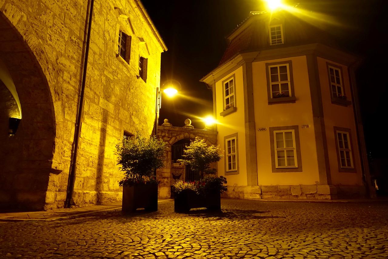 In den Straßen von Mühlhausen