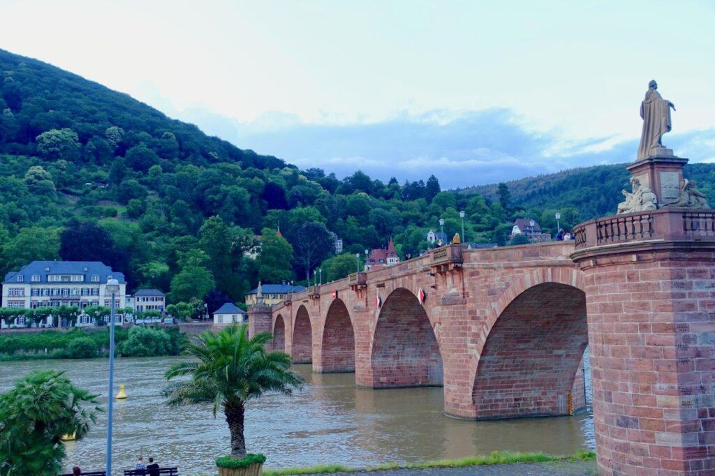 frueh morgens in Heidelberg