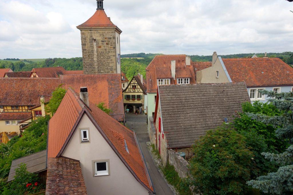 Stadtmauer Rothenburg ob der Tauber