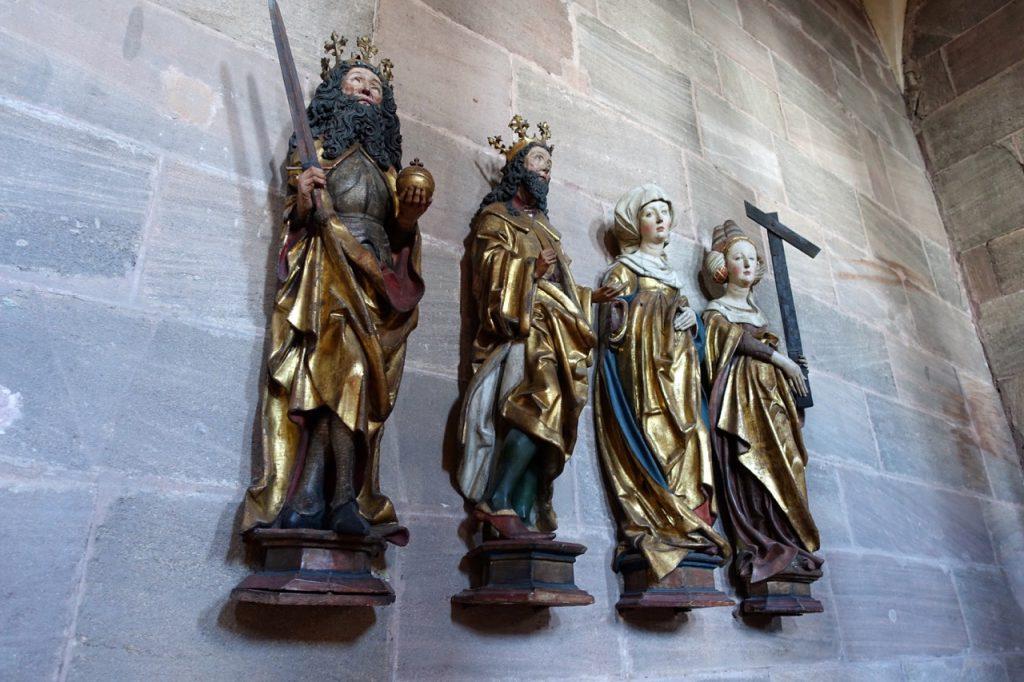 In der Burgkapelle auf der Kaiserburg Nürnberg