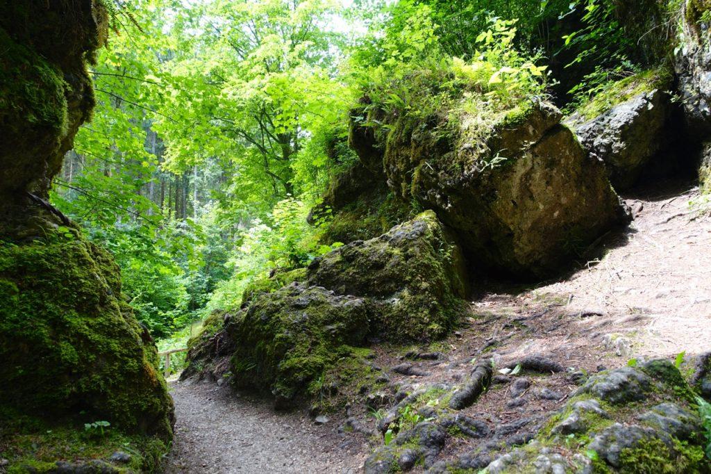 Ausgang der Teufelshöhle Pottenstein