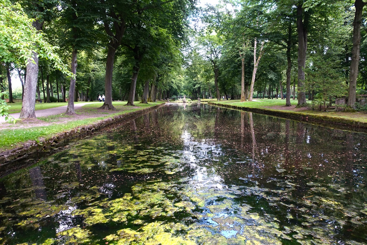 Im Park hinter dem Wagnerhaus Villa Wahnfried