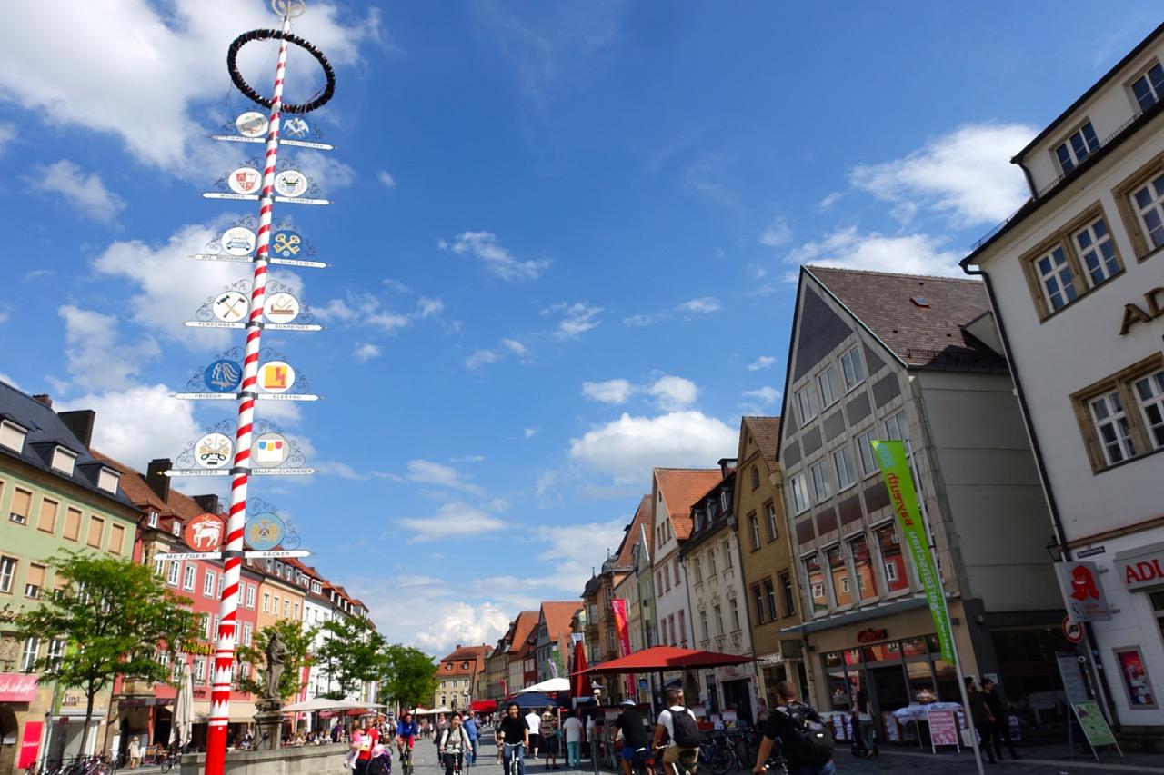 Shoppingmeile Bayreuth