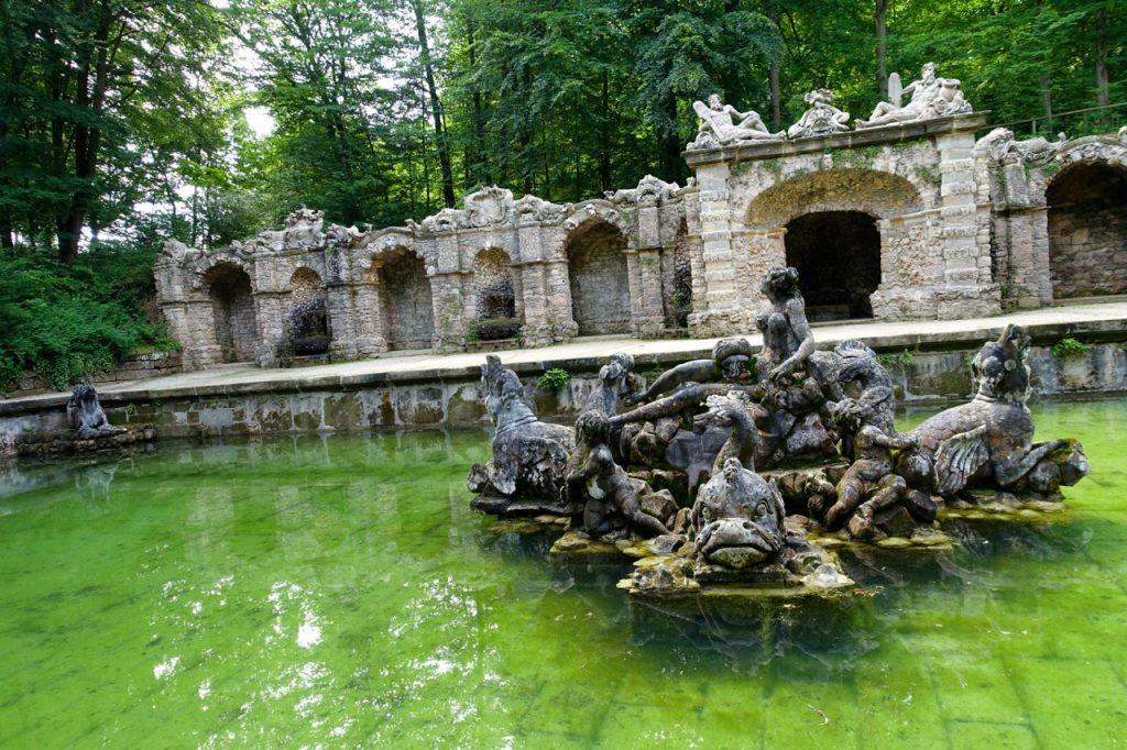 Untere Grotte in der Eremitage Bayreuth