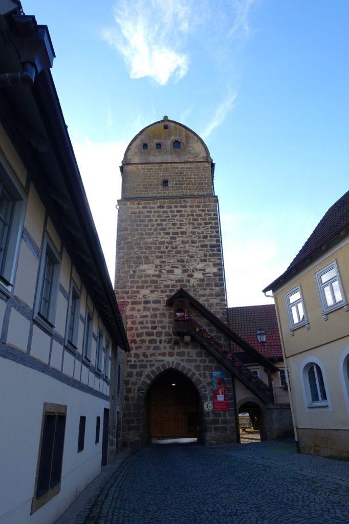 Historischer Stadtkern in Seßlach Franken