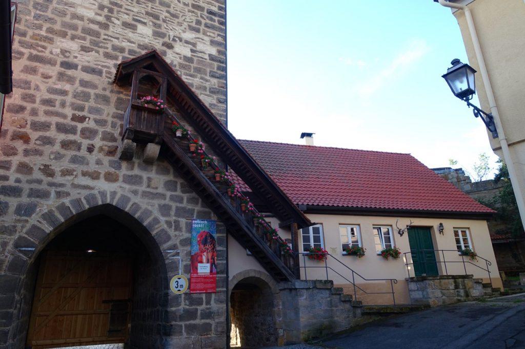 Seßlach an der Burgenstraße in Bayern