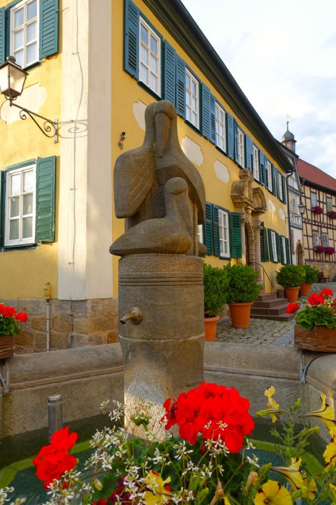 Marktplatz in Seßlach