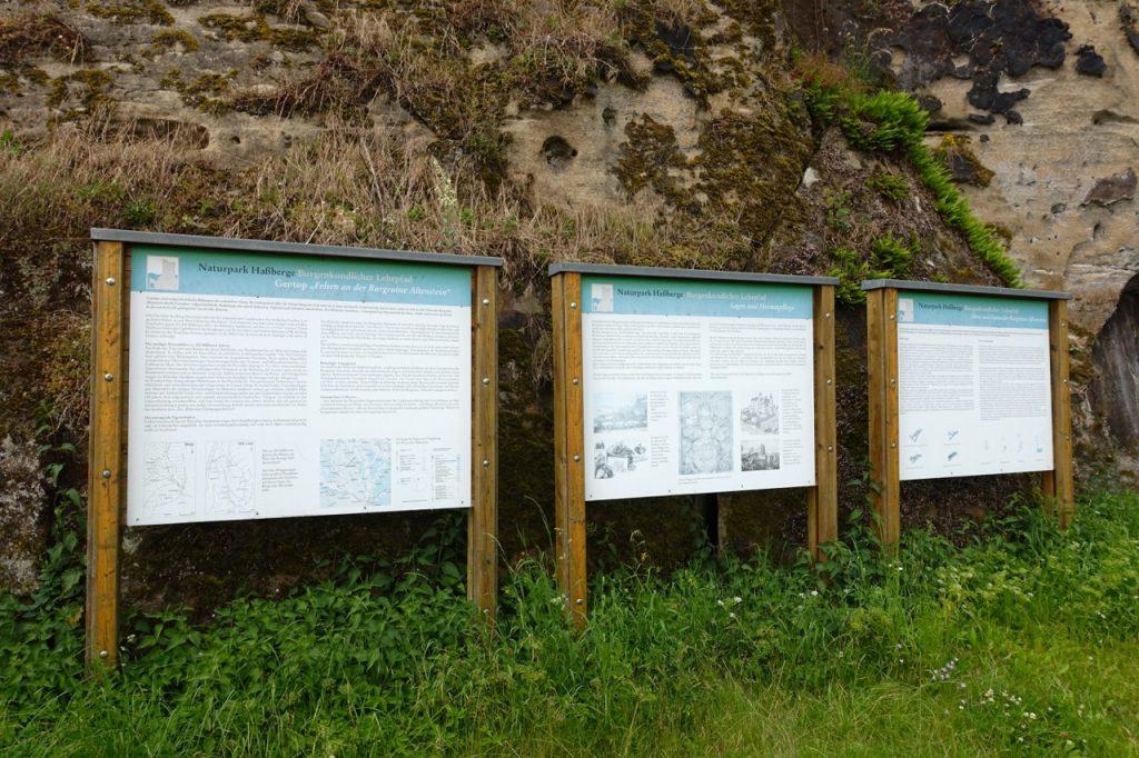 Burgen im Nationalpark Haßberge