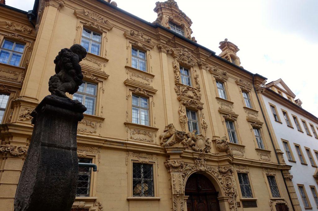 Historische Häuserzeilen in Bamberg