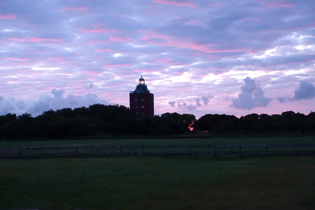 Sonnenaufgang Neuwerk