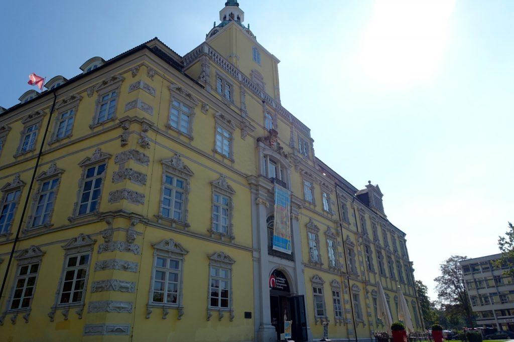 Ein Wahrzeichen von Oldenburg - Schloss in Oldenburg