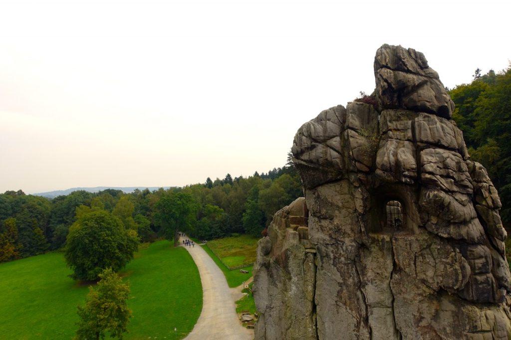 Auf den Externsteinen - Astronomie Platz, Kultstätte oder einfach nur Felsen?