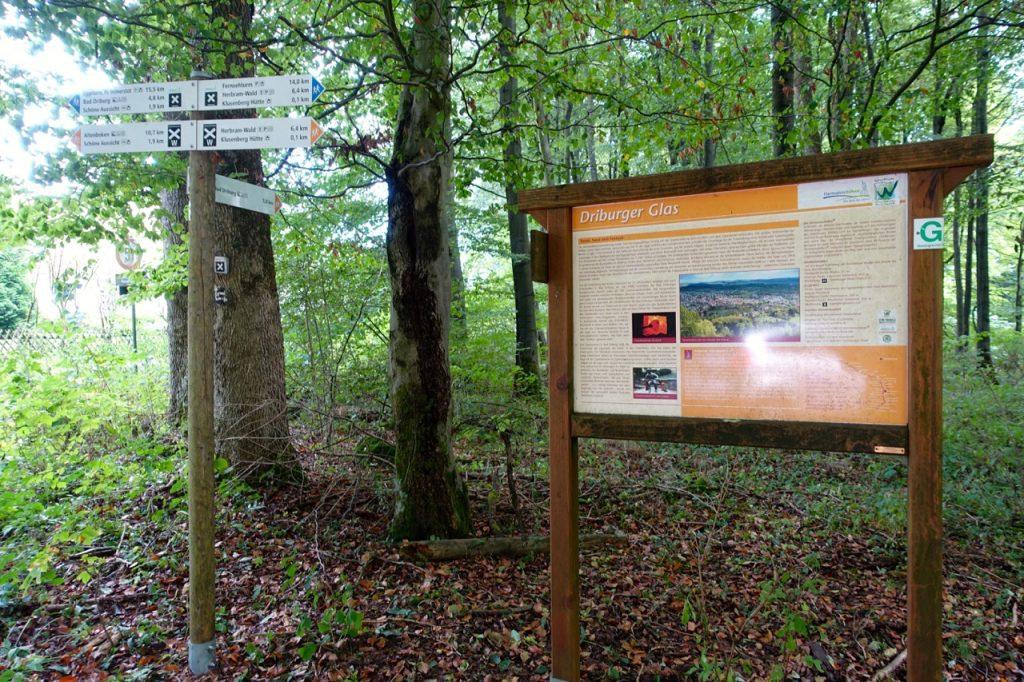 Hermannshöhen Wanderwege - Infotafeln