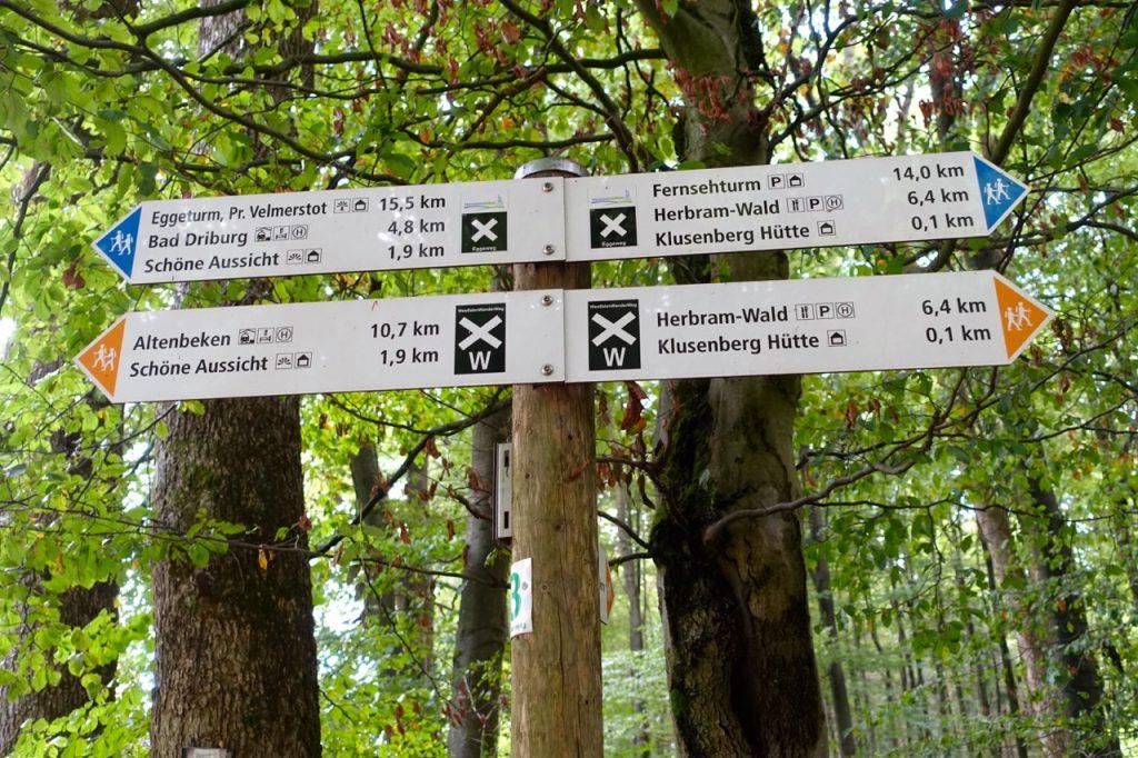 Hermannshöhen Wanderweg
