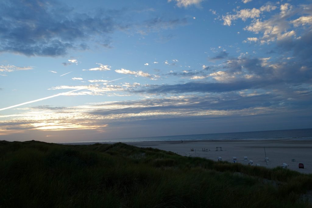 Sonnenuntergang - Juist Strand