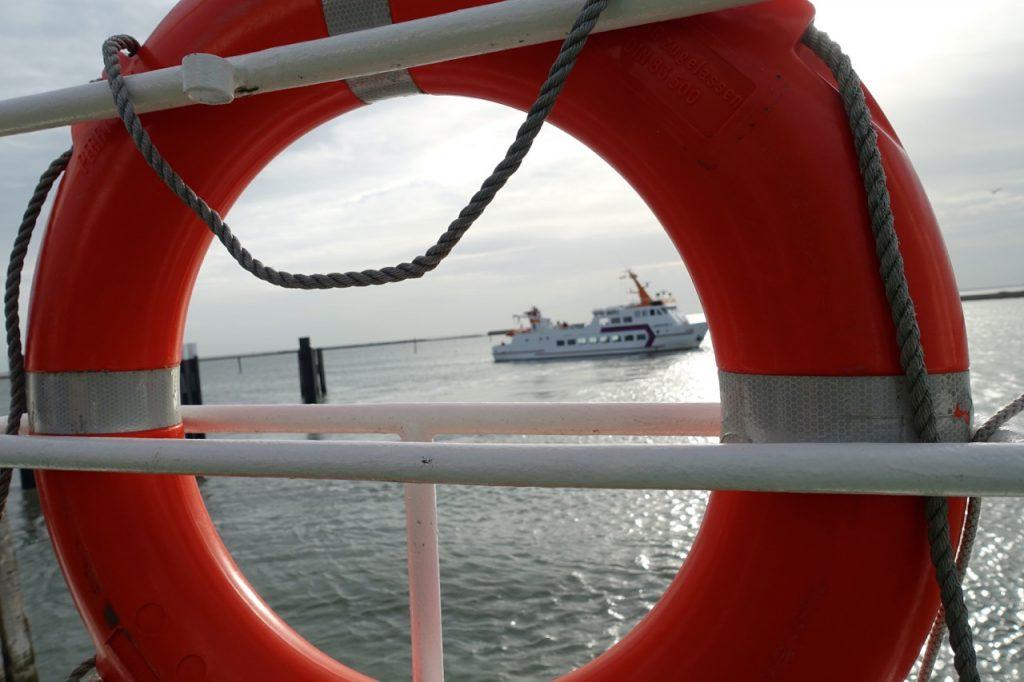 Langeoog Urlaub - die Reise beginnt und endet mit der Langeoog Fähre