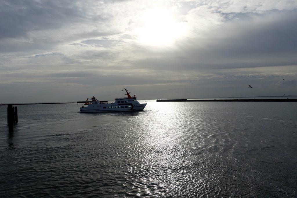 Langeoog Fähre - per Schiff gehts auf die Nordseeinsel