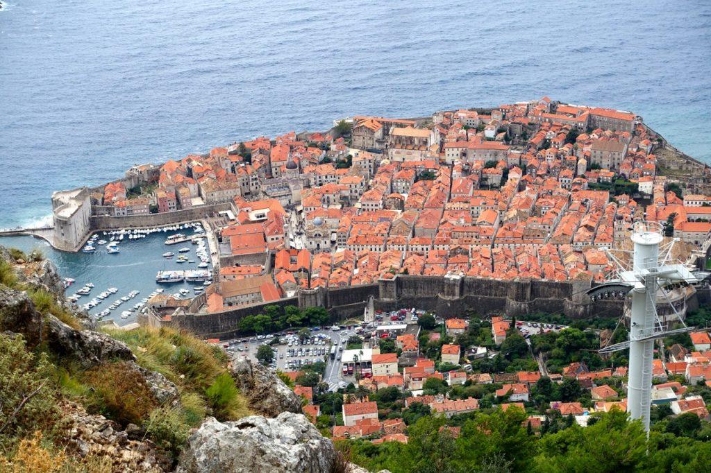 Overtourism Blick auf Dubrovnik