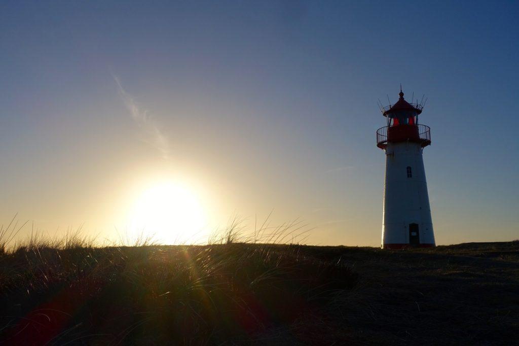 Sonnenuntergang List Sylt