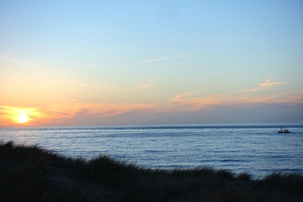 Sonnenuntergang Sylt - die blaue Stunde beginnt...