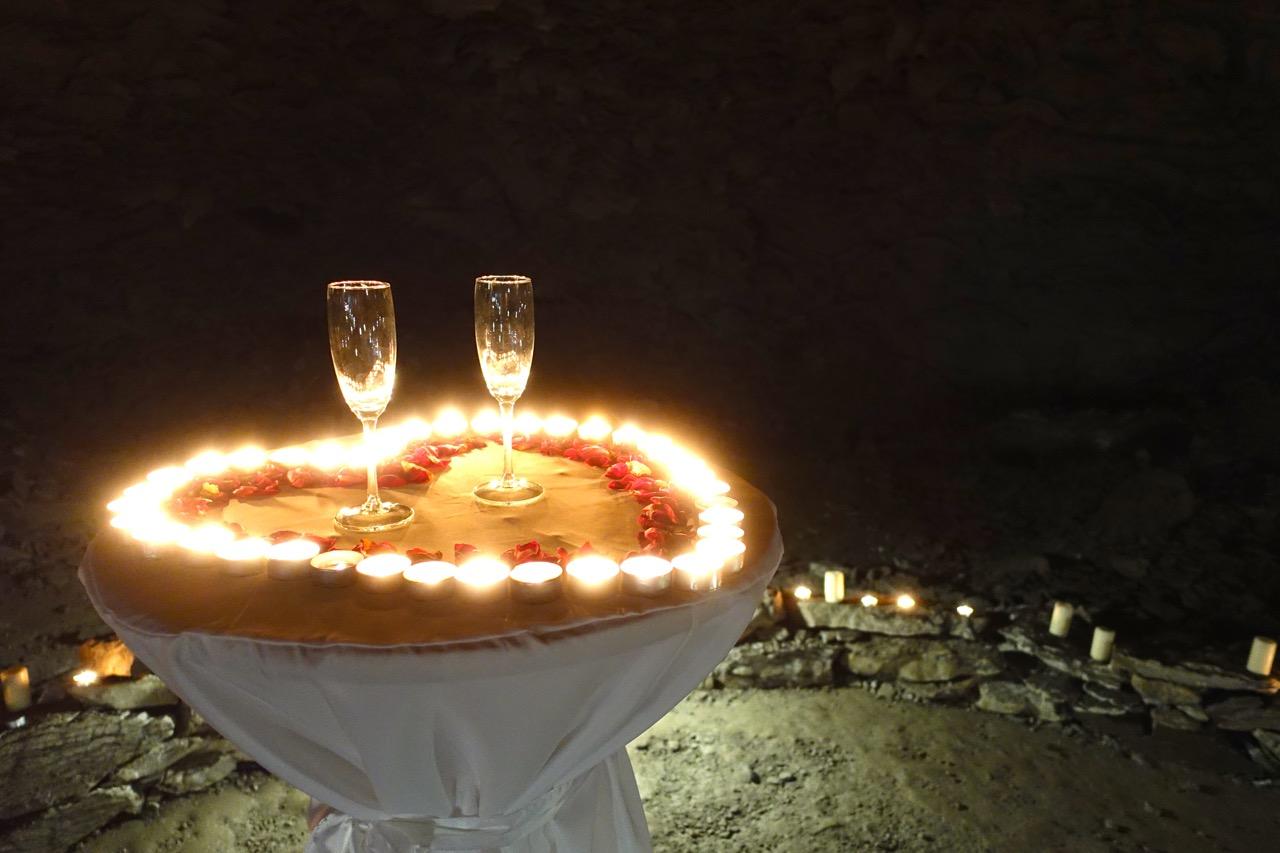 In der Barbarossahoehle darf auch geheiratet werden