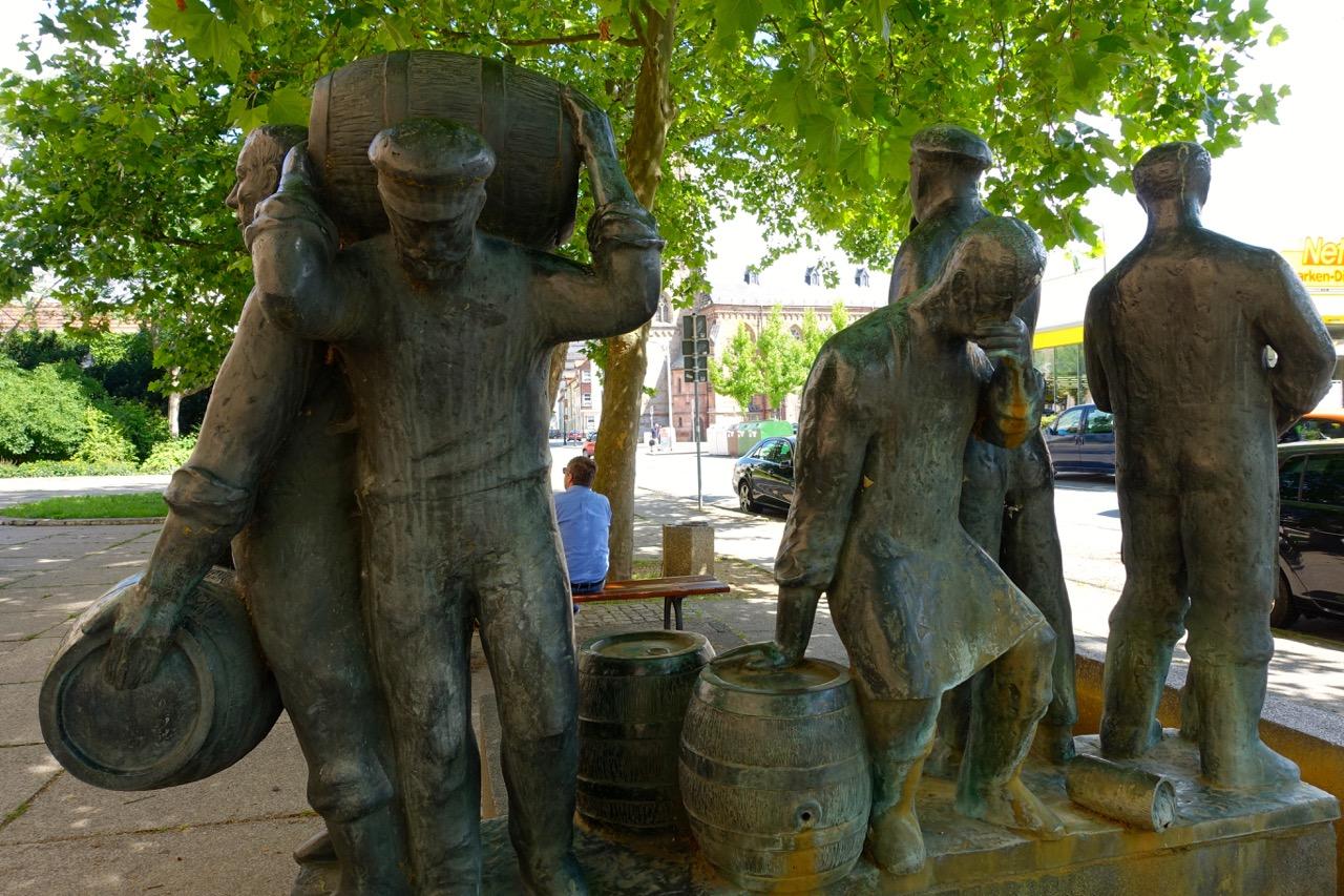 Brunnen in Zwickau