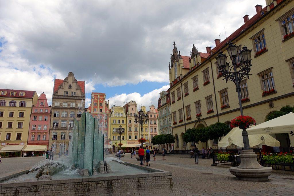 Breslau Brunnen auf dem Marktplatz
