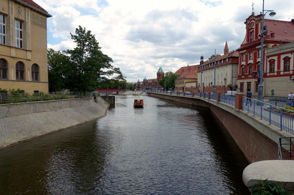 Breslau - Seitenarm der Oder