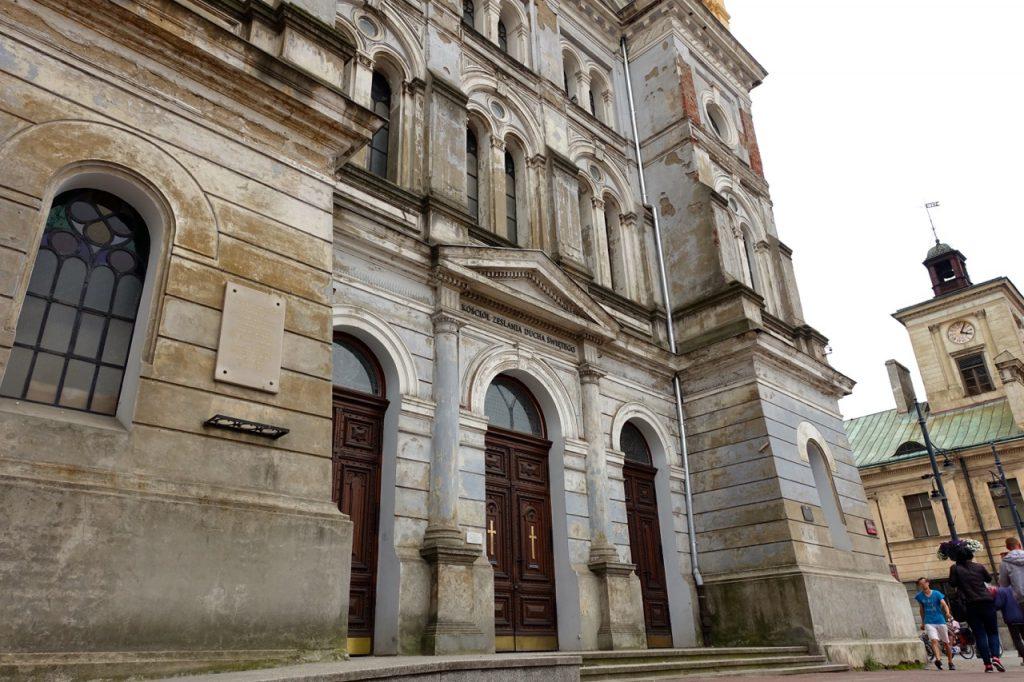 Lodz Reisebericht - viele alte Gebäude in Lodz