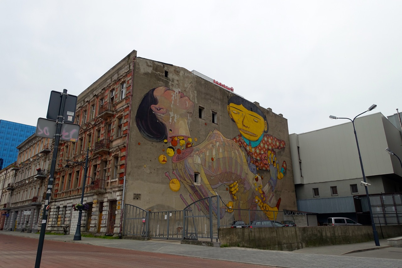 Reisebericht Lodz – Grafitis in Lodz