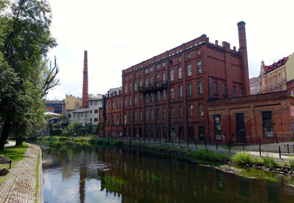 Leere Industriegebauede in Bromberg Polen