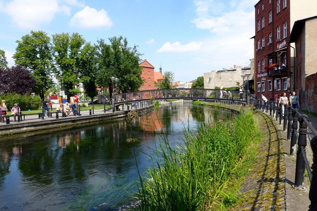 Bromberg Polen - Spaziergang in Richtung Stadtkern