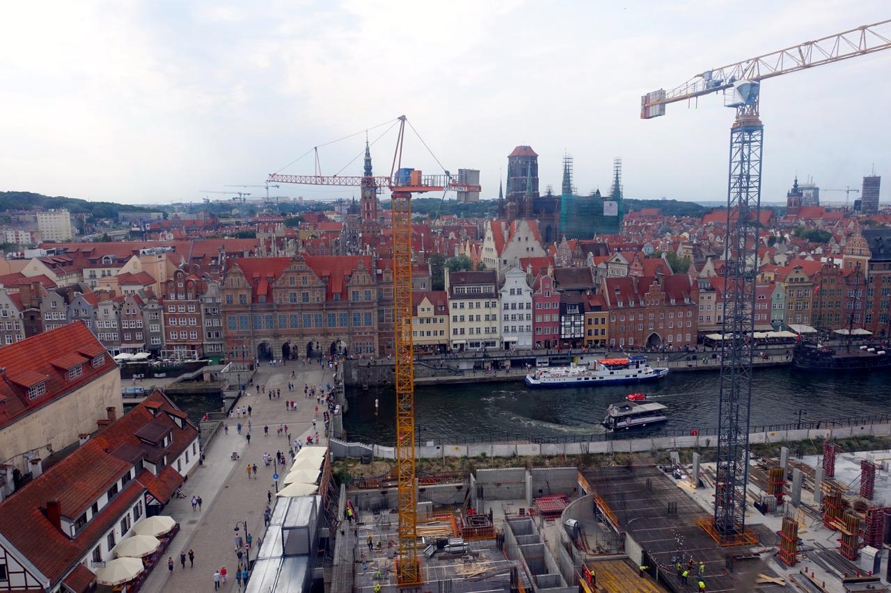 Aus dem Danzig Reisebericht – Danzig von oben