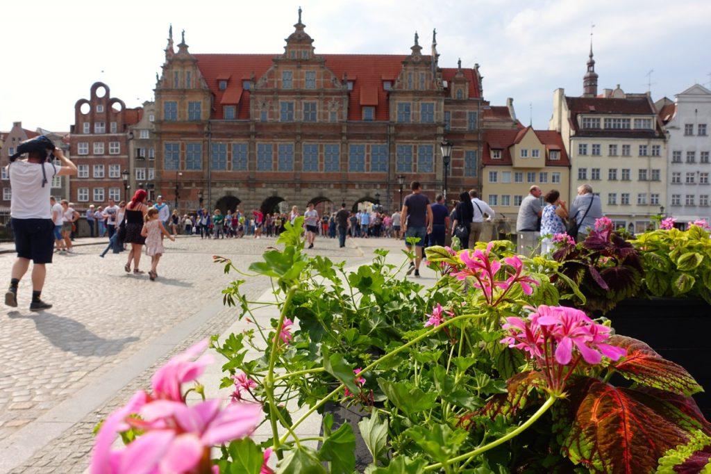 Danzig Altstadt - hier heisst sie Rechtstadt