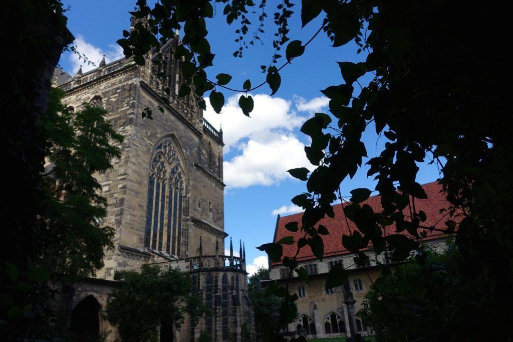 Magdeburg Dom - Blick vom Kreuzgang