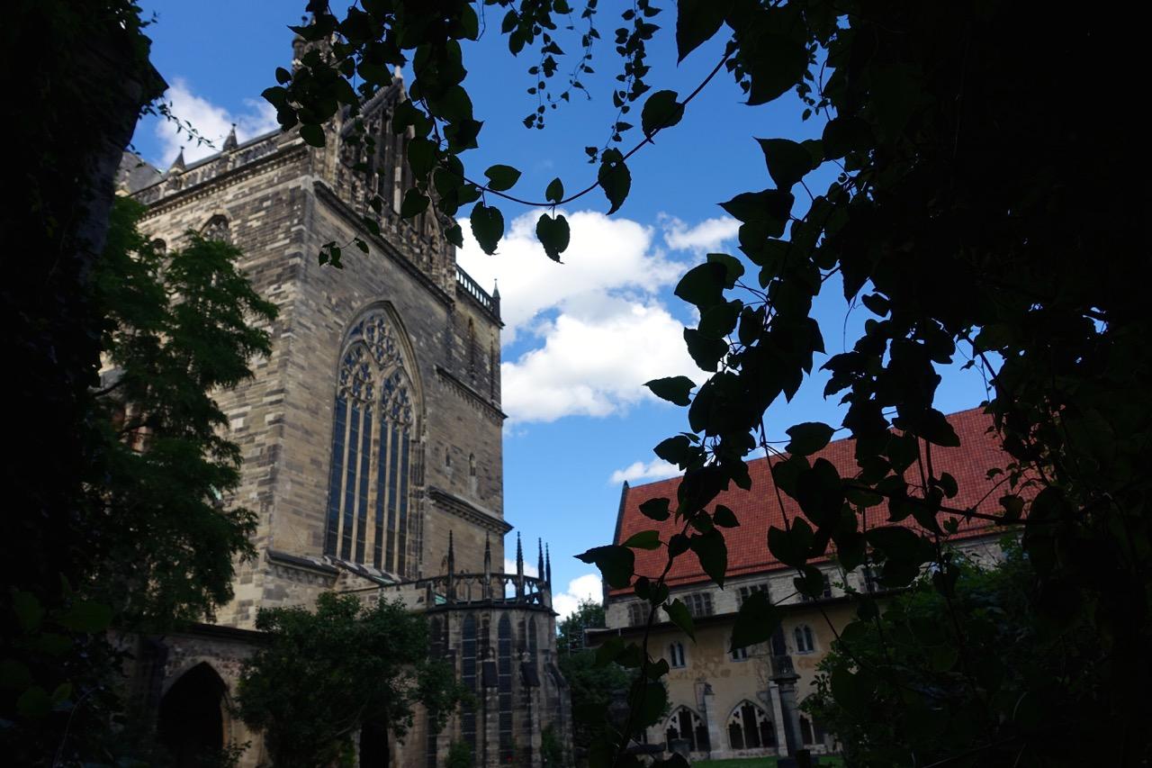 Magdeburg Dom – Blick vom Kreuzgang
