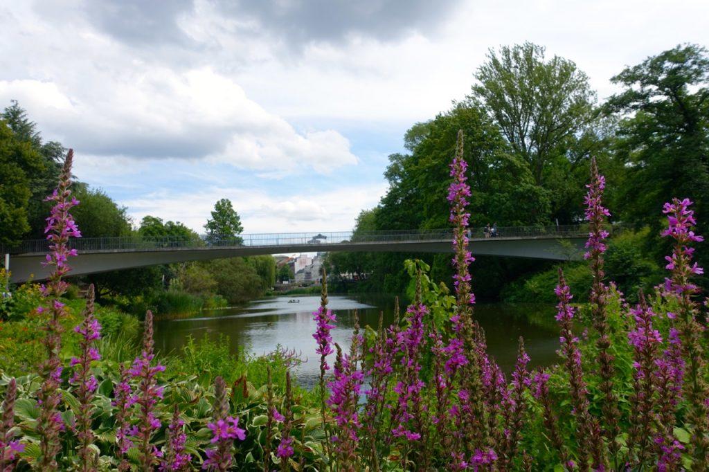 Wandern Hamburg durch Planten und Blomen
