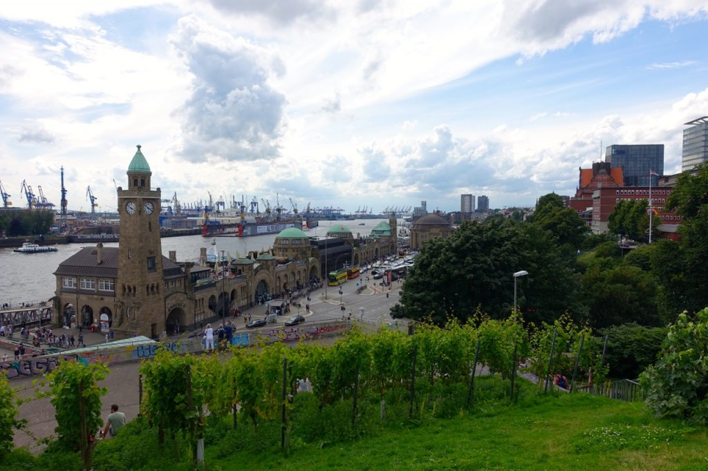 Hamburg von oben - am Stintfang