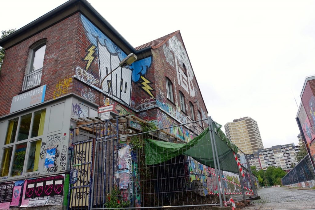 Hannover Streetart - Rund um Cafe Glocksee