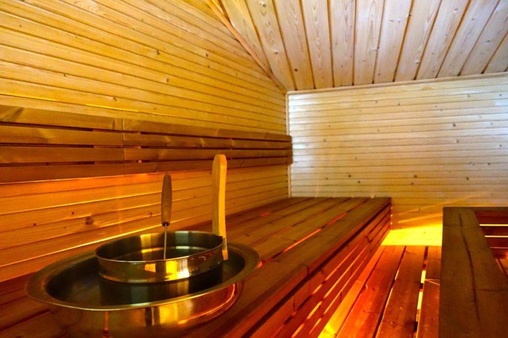 Finnland im September mit Sauna und Wellness