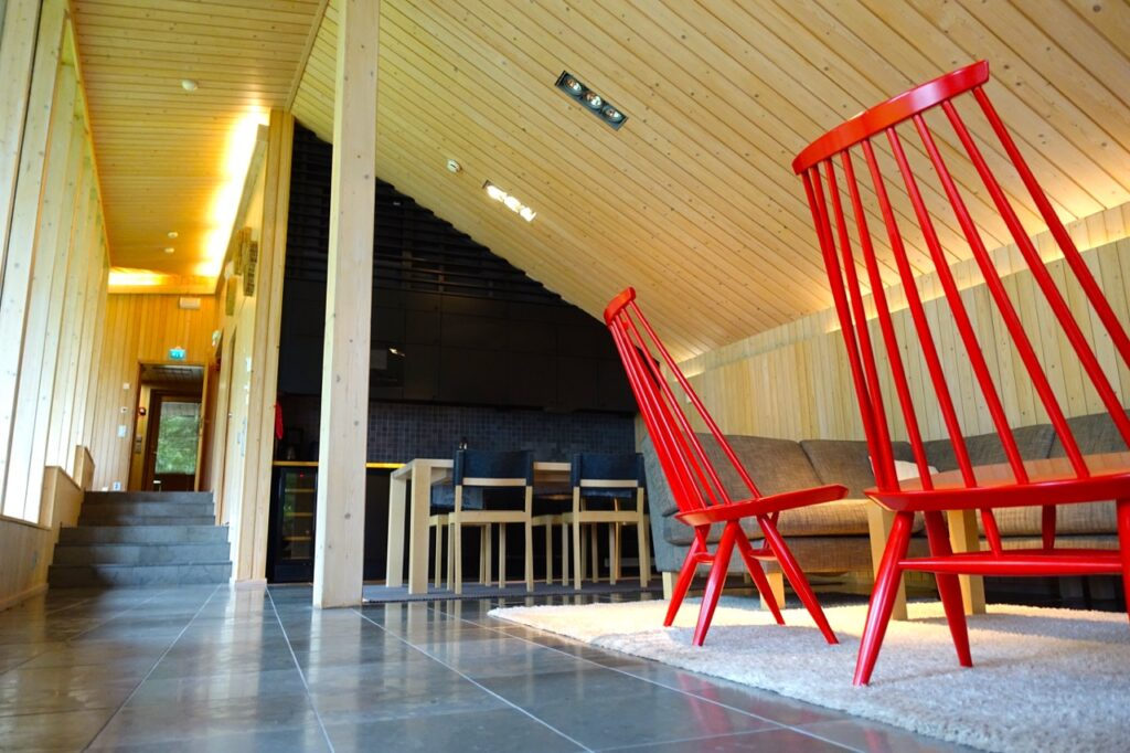 Im Ferienhaus am Saimaa See Finnland