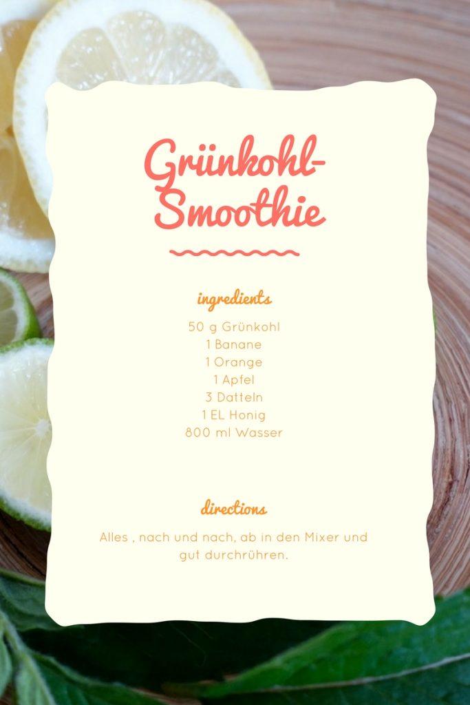Grünkohl-Smoothie Rezept