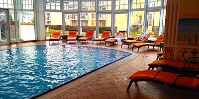 Pool im Kaiser Spa Hotel zur Post